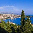Stock Photo: Panoramof Split, Croatia