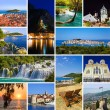 Collage aus Kroatien-Reise-Bilder — Stockfoto #8296258