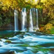 Waterfall Duden at Antalya Turkey — Stock Photo #8424539