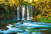Waterfall Duden at Antalya Turkey — Stock Photo