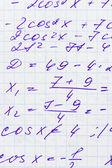 Mathematics formula — Stock Photo