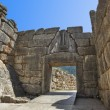 Stock Photo: Lion Gate at Mycenae, Greece