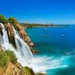 Waterfall Duden at Antalya, Turkey — Stock Photo #8524062