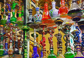 Hookah in souvenir shop — Foto Stock