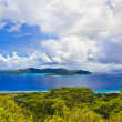 Island Praslin at Seychelles - Stockfoto
