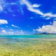 Stock Photo: Panorama of tropical beach