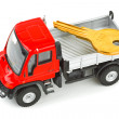 Royalty-Free Stock Photo: Toy car truck with key