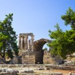 Royalty-Free Stock Photo: Ruins of temple in Corinth, Greece