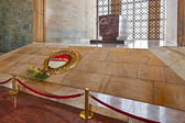 Mustafa Kemal Ataturk mausoleum in Ankara Turkey — Stock Photo