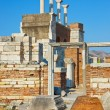 Ruins of st. Johns Basilica at Selcuk Ephesus Turkey — Stock Photo #8760524