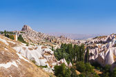 Uchisar cave city in Cappadocia Turkey — Stock Photo