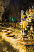 Statue of god at Batu caves, Kuala-Lumpur, Malaysia — Stock Photo
