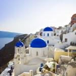 Santorini church (Oia), Greece — Stock Photo #8834352