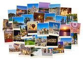 Pila de imágenes del viaje de turquía — Foto de Stock