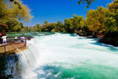 Waterfall Manavgat at Turkey — Stock Photo