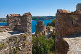 Rumeli Fortress at Istanbul Turkey — Stock Photo