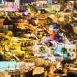 santorini night - greece — Stock Photo