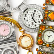 Woman watches — Stock Photo #9700441