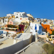 Santorini view (Oia), Greece — Photo
