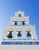Santorini belltower (Oia), Greece — Stock Photo