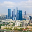 Modern skyscrapers at Moscow City, Russia — Stock Photo