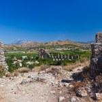 Aqueduct at Aspendos in Antalya Turkey — Stock Photo