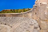 Old amphitheater Aspendos in Antalya, Turkey — Stock Photo