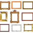Set of frames — Foto de Stock