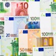 Euro money background — Stock Photo #9777287