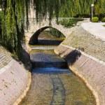 River and bridge in Split, Croatia — Stock Photo #9819683