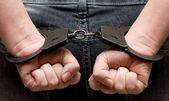 Handcuffs — Stock Photo