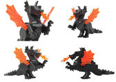 Hračky drak, draco lego — Stock fotografie