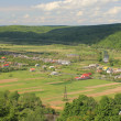 Panorama of the village — Stock Photo