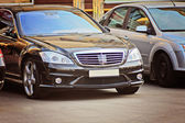 Mercedes Benz S class luxury business car — Stock Photo