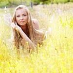 Beautiful young woman — Stock Photo #10077740