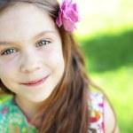 Beautiful little girl — Stock Photo #10358093