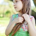 Beautiful little girl — Stock Photo #10454841