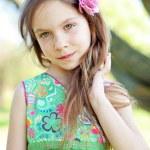 Beautiful little girl — Stock Photo #10456163