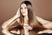 Beautiful hair — Stock Photo