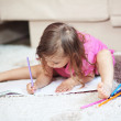 Stock Photo: Child drawing