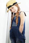 Little Fashion Girl — Stock Photo