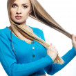 Hair beauty - Stock Photo