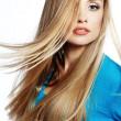 hår skönhet — Stockfoto