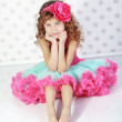 Little princess - Stock Photo