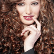 Beautiful hair — Stockfoto