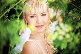 Angelic bride — Stock Photo