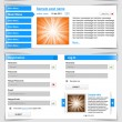 Web design template set 2.0. — Stock Vector