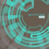 Techno-abstrakt — Stockvektor