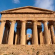 Concordia temple in Agrigento, Sicily, Italy - Stock Photo