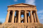 Concordia tapınağı agrigento, sicilya, i̇talya — Stok fotoğraf
